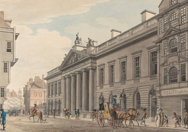 East India House watercolour
