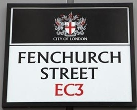 Fenchurch Street sign