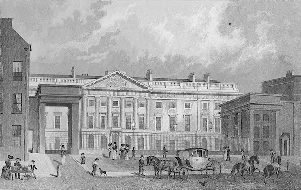 Royal Mint Tower Hill 1830
